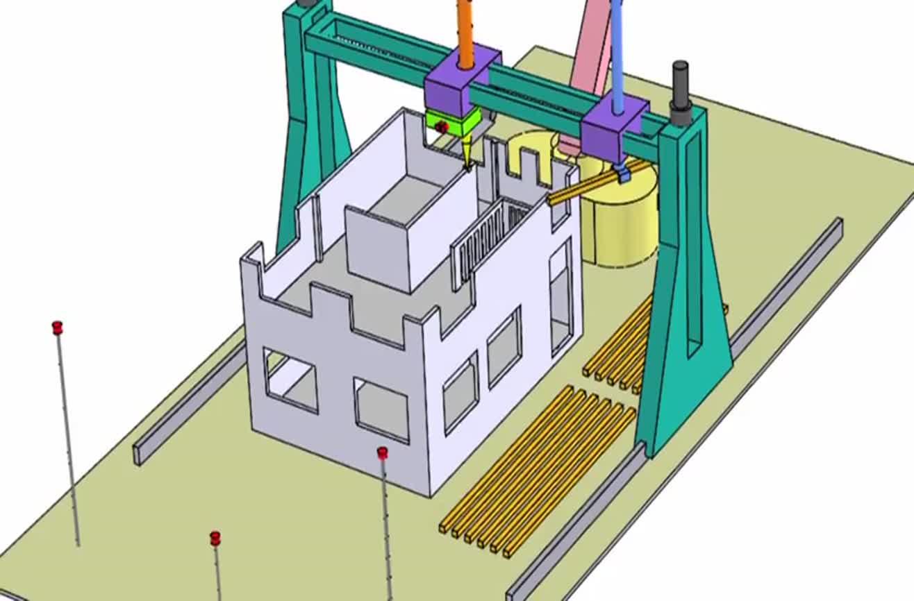 پرینترهای سه بعدی و خانهسازی