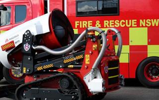 ربات آتش نشان