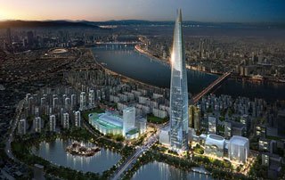 برج لاته کره جنوبی