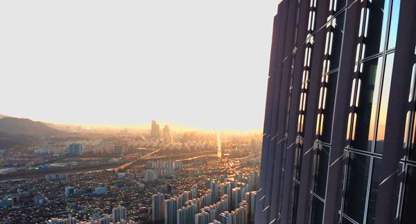 برج جهانی لاته کره جنوبی