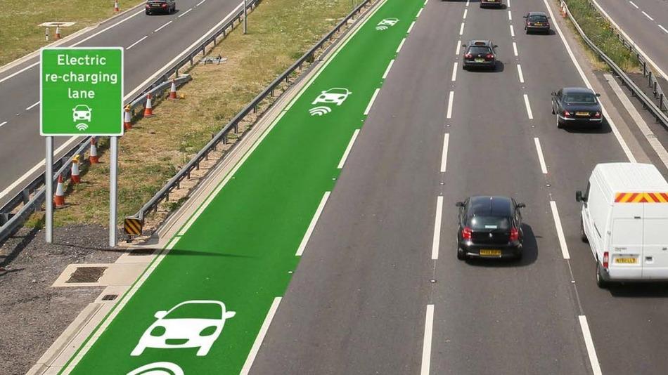 خطوط شارژ جاده ای