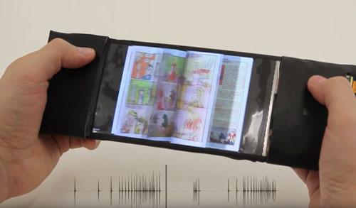 اولین تلفن هوشمند خمیده