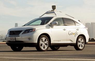 خودرو بدون راننده گوگل