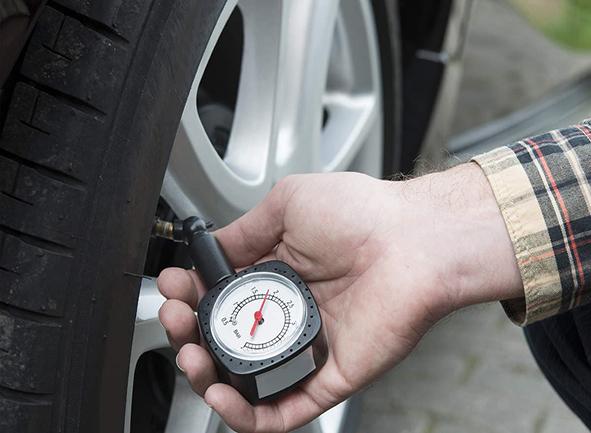تنظیم باد لاستیک و کاهش مصرف سوخت